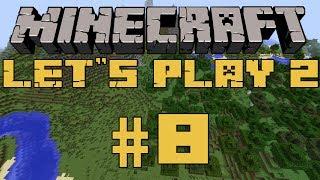 Minecraft | Let's play 2 - #8(Главное здание)