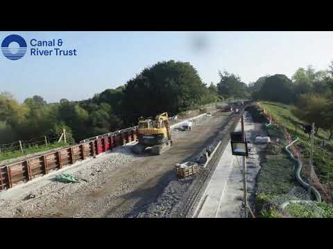 Middlewich Arm repairs: September and October timelapse