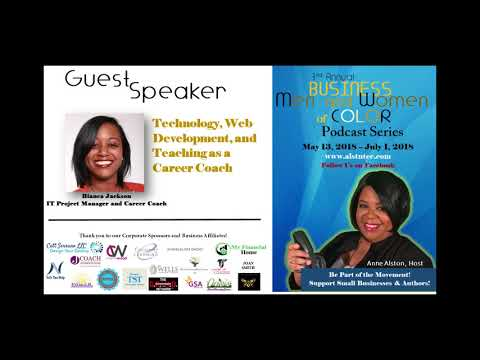 2018 BMWOC Podcast #9 - Technology, Web Development and Teaching as a Career Coach