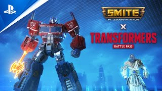 Smite - Transformers Battle Pass Trailer Reveal PS4