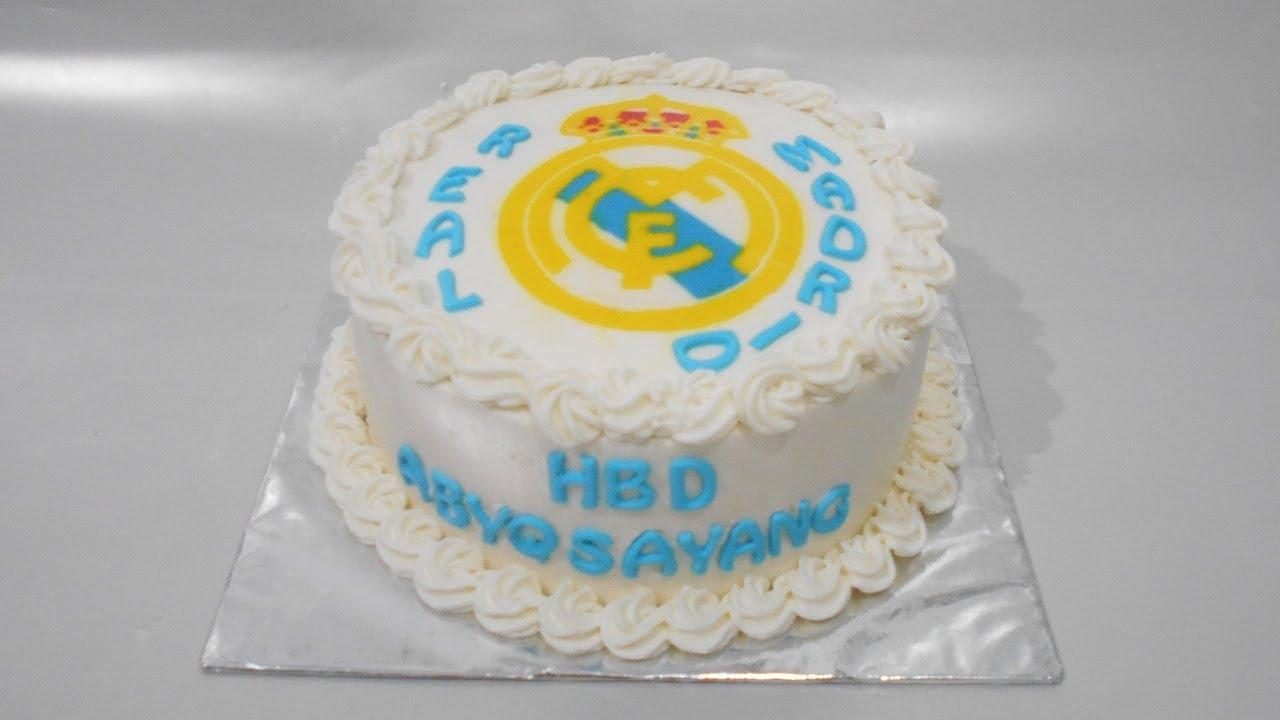 Cake Real Madrid Buttercream