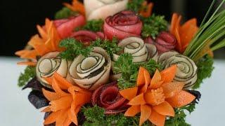 цветы из овощей ( flowers from vegetables )