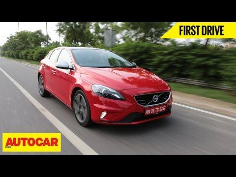 Volvo V40 | First Drive | Autocar India