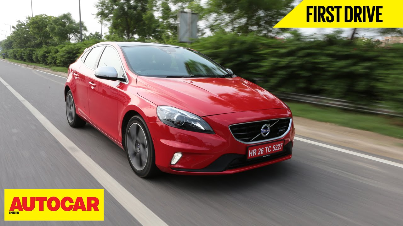 Volvo V40 | First Drive | Autocar India - YouTube