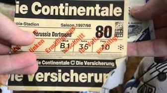 Hertha BSC Berlin Tickets von 1995 bis 2002