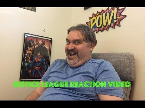 Reaction to Justice League SDCC trailer