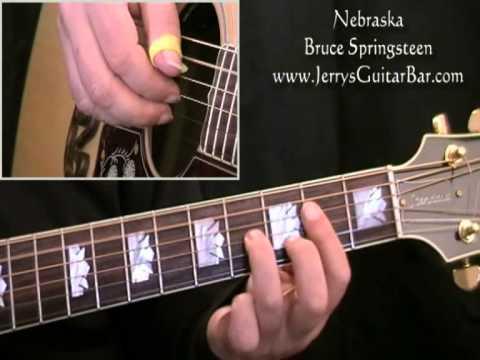 How To Play Bruce Springsteen Nebraska (full lesson)