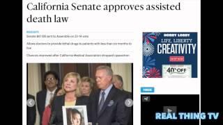 California Senators Endorse Doctor Prescribed Death and Vote to Legalize Suicide the Golden State