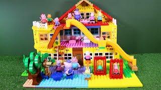 Peppa Pig Blocks Mega House Construction Sets Creative Toys For Kids #7