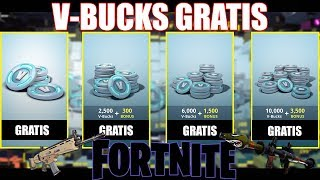 V-BUCKS FREE ON FORTNITE ❗ HERE COME GETTS 😱 Fortnite, Fortnite