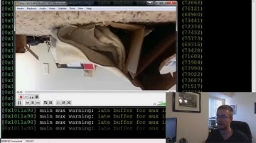 Raspberry Pi camera module streaming video to another computer