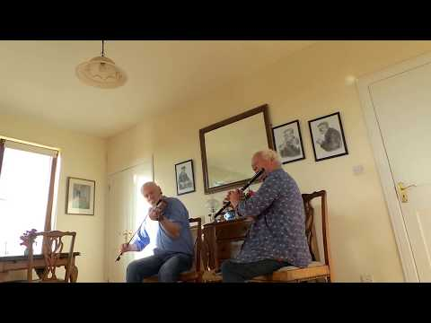 Fireside House Session with James Devitt (fiddle) and Christy Barry (flute)
