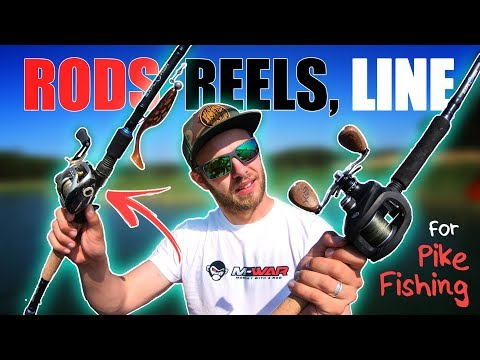 Gear For PIKE FISHING 🎣 (Rods, Reels, Line, Leader)