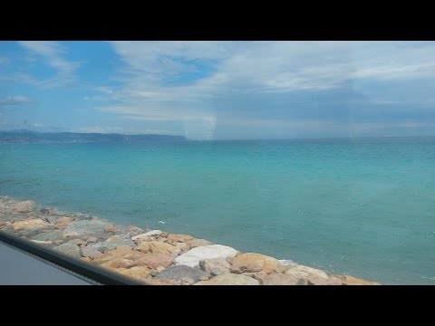 201606 Train Trip Lithuania-Italy-Austria. Beautiful Mediterranean Shores - Milan-Sanremo
