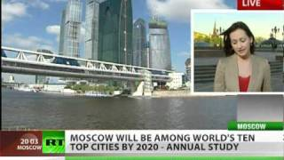Moscow to be a top-ten global city by 2020