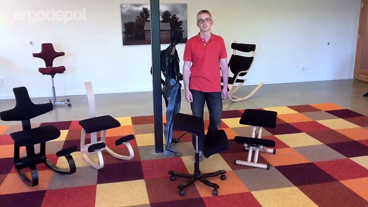 Stokke Balans Stoel : The balans kneeling chair collection by varier youtube