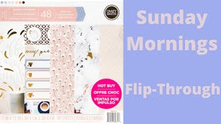 Craft Smith Sunday Morning 12x12 paper pad from Michaels Review