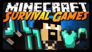 Minecraft FULL DIAMOND ARMOR! (Hunger Games Survival)