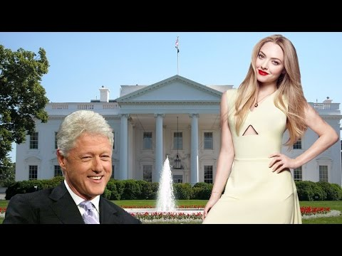 Amanda Seyfried Wants Bill Clinton's Babies
