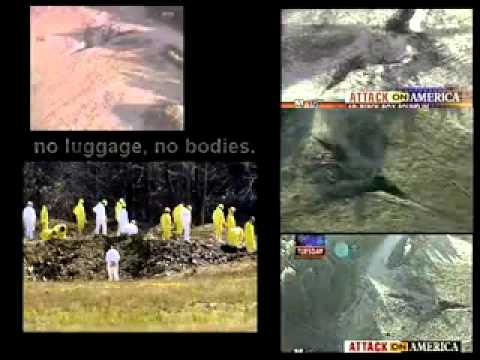 Proof that 9/11 flight 93 did not crash at Shanksville