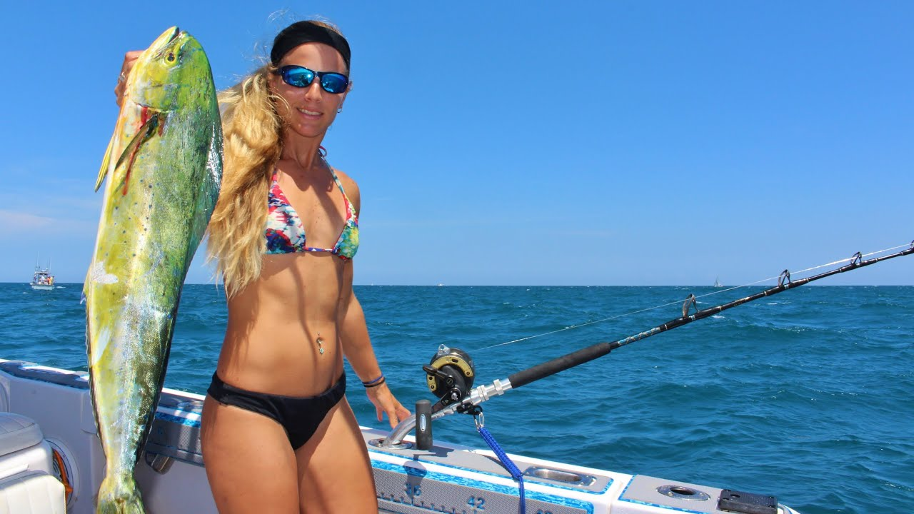 Vídeo de pesca de Gopro Girl para Deep Sea Florida Mahi - Youtube-2026