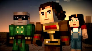 Minecraft Story Mode Female Playthrough Episode 2 Assembly Required Full Playthrough