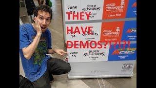 Vlogging And Playing Demos At Nintendo New York