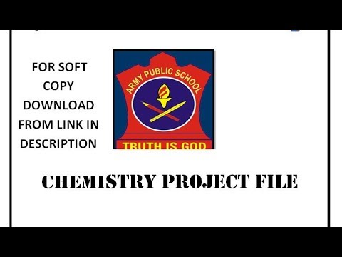 Chemistry Investigatory Project class 12 III ALLOYS for soft copy download from link in description