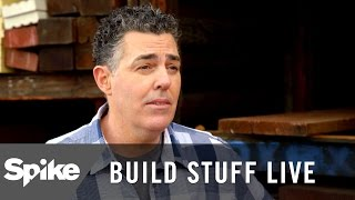Adam Carolla Helps Out At Hardware Store | Build Stuff Live