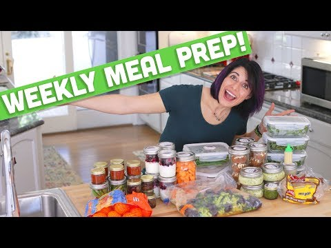 Meal Prep for the Week! Oat Muffins, Chimichurri Egg Salad, BBQ Drumsticks & more! - Mind Over Munch