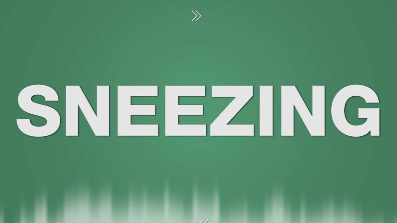 Sneezing Sound Effects