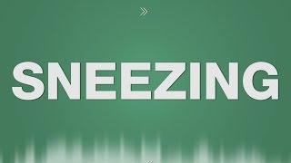Sneezing SOUND EFFECT - Niesen SOUNDS