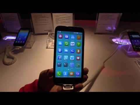 Hands On of the Lenovo A859 Smartphone