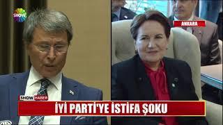 İYİ Parti'ye istifa şoku