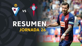Resumen de SD Eibar vs RC Celta (1-0)