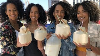 Bahamas Sky Juice with The Quadruplets
