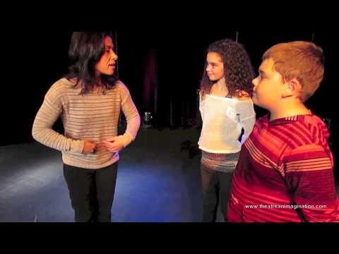 Éléments de mise en scène : Parler bien et fort