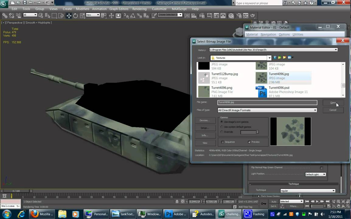 View port setup 3ds max for normal mapping youtube for Porte 3ds max