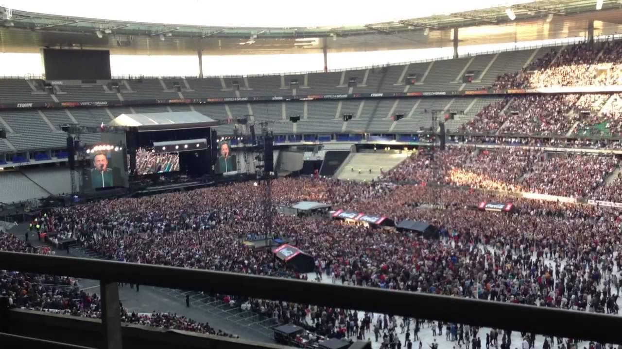 Bruce springsteen stade de france saint denis 2013 youtube - Stade de france place vip ...
