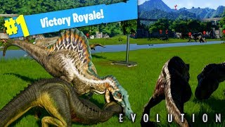CARNIVORES ONLY! DINOSAUR BATTLE ROYALE! (Jurassic World Evolutions Gamplay)