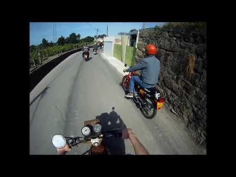 1ª concentração de motos antigas Adães  A partida