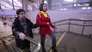 #MannequinChallenge в московском метро