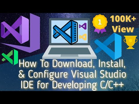 How To Download, Install, & Configure Visual Studio IDE for Developing C/C++ thumbnail