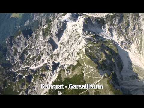 Summer flight over Liechtenstein