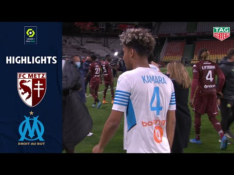 Metz Marseille Goals And Highlights