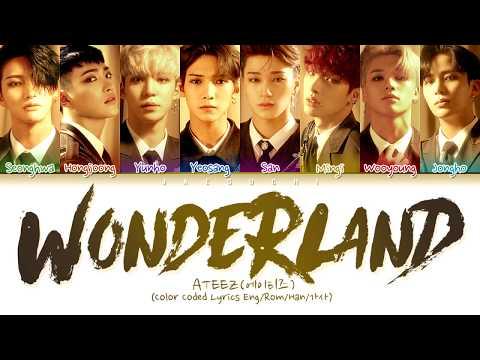 ATEEZ(에이티즈) 'WONDERLAND' (Color Coded Lyrics Eng/Rom/Han/가사)