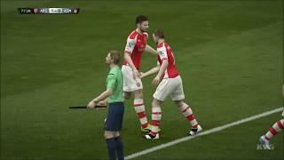 FIFA 15 - UEFA Champions League - Arsenal vs AS Monaco Gameplay (PC HD) [1080p]