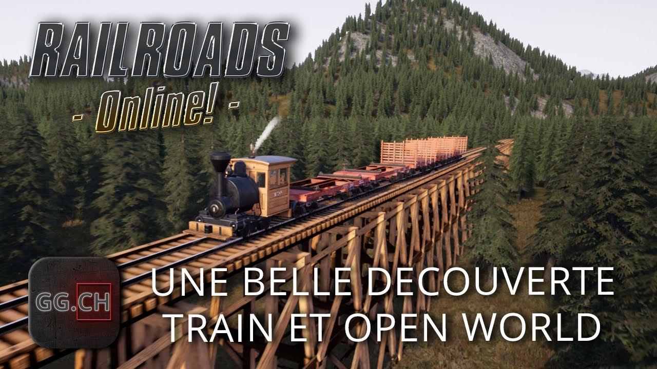 Download RailRoads Online! - FR - J'étais pas prêt... On découvre un jeu vraiment sympa | Les bases