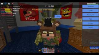 Roblox| Fredbear and friends SPRING TRAP ARMY