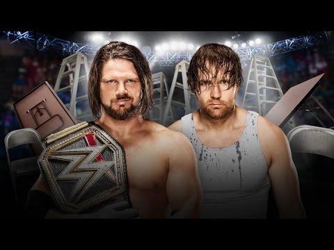 WWE TLC 2016 Recap: AJ Styles vs. Dean Ambrose!